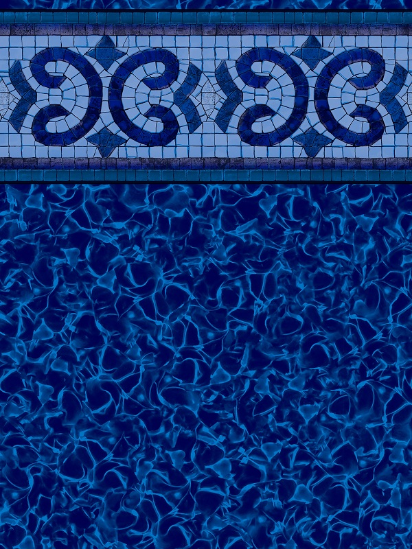 Pool Linder Sample Photo Rich Blue Pattern
