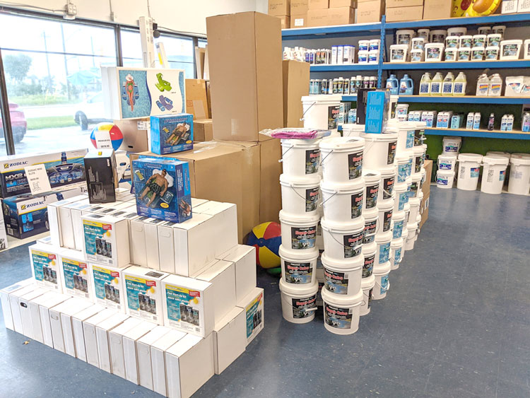 photo of inside of store
